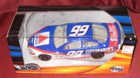 2001 Hot Wheels Racing 1:24 #99 J.Burton/Citgo
