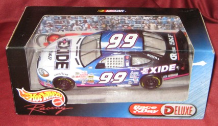 2000 Hot Wheels Race Day Deluxe 1:24 #99 J.Burton/Exide