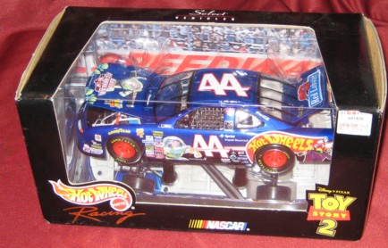 1999 Hot Wheels Racing Select 1:24 #44 K.Petty/Hot Wheels Toy Story 2