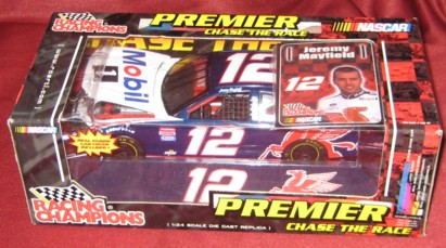 2001 Racing Champions Premier 1:24 #12 J.Mayfield/Mobil 1