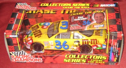 2001 Racing Champions 1:24 #36  K.Schrader/M&M's