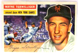 1956 Topps #73 Wayne Terwilliger front image