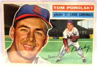 1956 Topps #196 Tom Poholsky