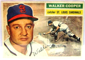 1956 Topps #273 Walker Cooper