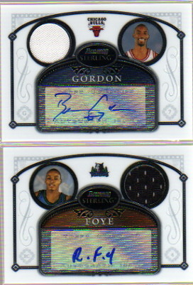 2006-07 Bowman Sterling #35 Ben Gordon JSY AU