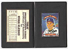 1992 Triple Play Gallery #GS10 Ryan Klesko