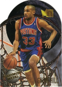 1995-96 Metal Maximum Metal #3 Grant Hill
