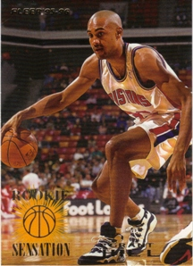 1995-96 Fleer Rookie Sensations #2 Grant Hill