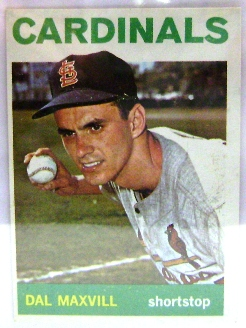 1964 Topps #563 Dal Maxvill