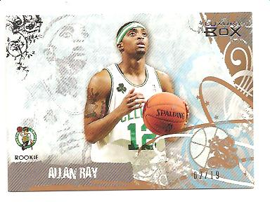 2006-07 Topps Luxury Box Bronze #65 Allan Ray