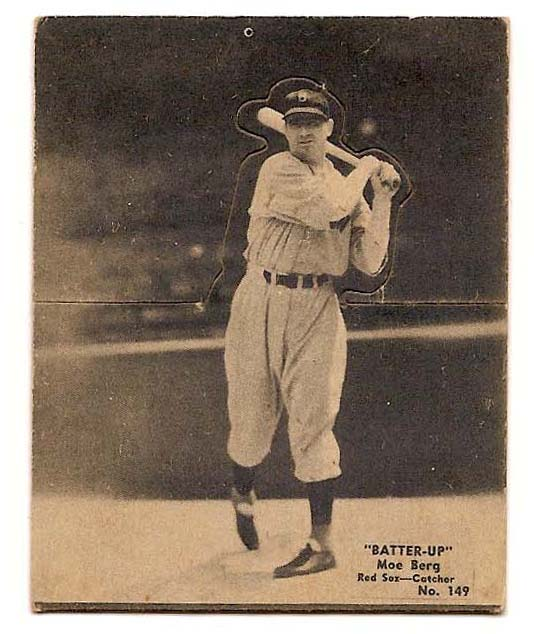 1934-36 Batter-Up #149 Moe Berg front image