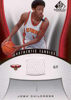 2006-07 SP Game Used #101 Josh Childress JSY