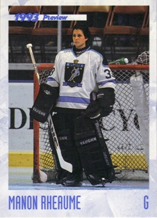 1993 Classic Previews #HK2 Manon Rheaume