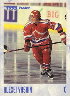 1993 Classic Previews #HK5 Alexei Yashin