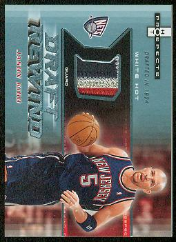 2006-07 Fleer Hot Prospects Draft Rewind Patches #JK Jason Kidd