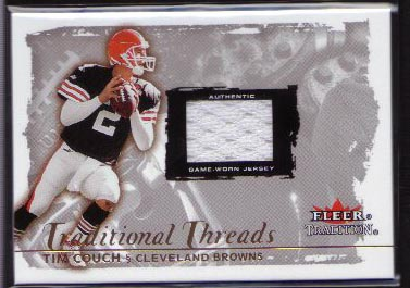 2000 Fleer Glossy Traditional Threads Tim Couch