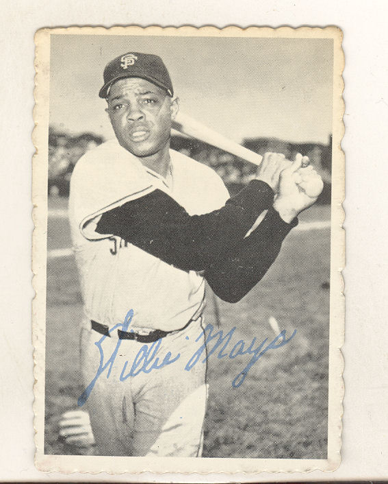 1969 Topps Deckle Edge #33 Willie Mays