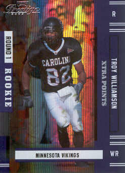 2005 Playoff Prestige Xtra Points Purple #213 Troy Williamson