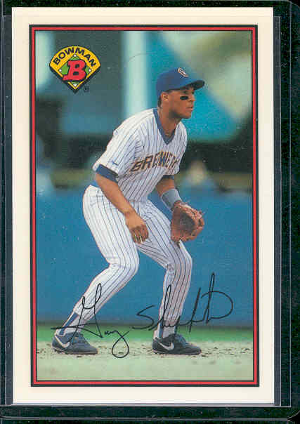 1989 Bowman Tiffany #142 Gary Sheffield front image