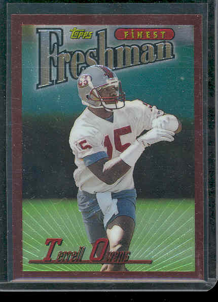 1996 Finest #338 Terrell Owens B RC