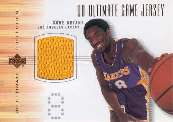 2000-01 Ultimate Collection Game Jerseys Bronze #KBJ Kobe Bryant front image