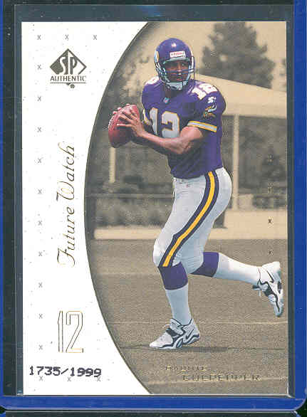 1999 SP Authentic #99 Daunte Culpepper RC