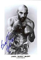 JAMES (Buddy) McGIRT autographed 8x10 photo