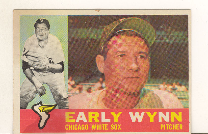 1960 Topps #1 Early Wynn front image