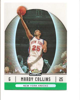 2006-07 Finest Refractors Green #85 Mardy Collins
