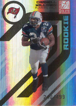 2005 Donruss Elite #118 Cadillac Williams RC