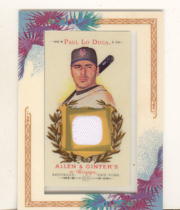 2007 Topps Allen and Ginter Relics #PL Paul LoDuca J