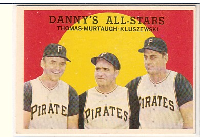 1959 Topps #17 Danny's All-Stars/Frank Thomas/Danny Murtaugh MG/Ted Kluszewski