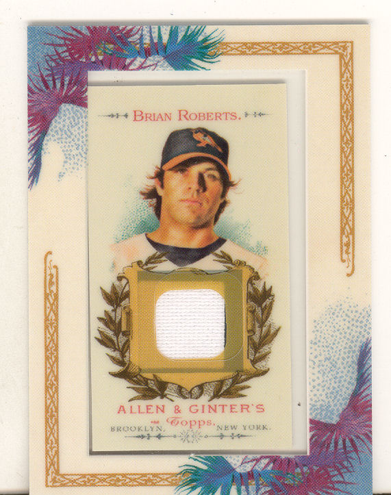2007 Topps Allen and Ginter Relics #BR Brian Roberts J