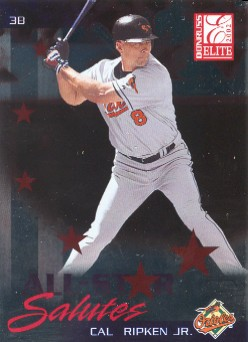 2002 Donruss Elite All-Star Salutes #4 Cal Ripken/2001