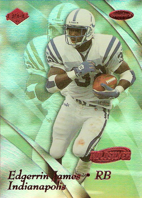 1999 Collector's Edge Masters HoloSilver #86 Edgerrin James