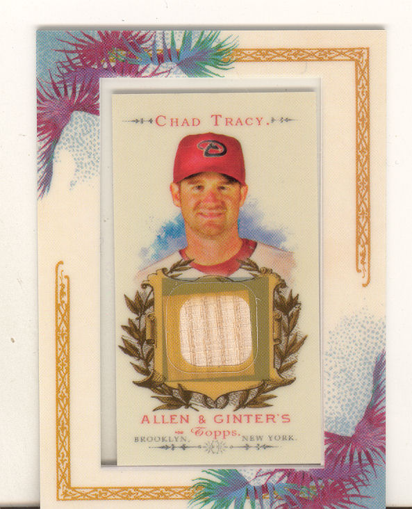 2007 Topps Allen and Ginter Relics #CT Chad Tracy Bat G