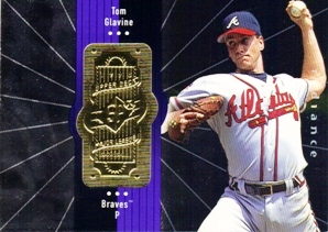 1998 SPx Finite Radiance #57 Tom Glavine