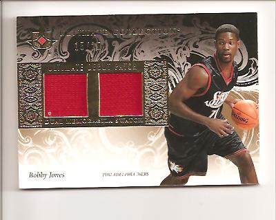 2006-07 Ultimate Collection Debut Patches #UDBJ Bobby Jones