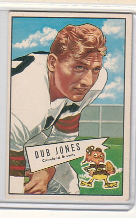 1952 Bowman Large #86 Dub Jones