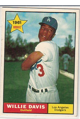 1961 Topps #506 Willie Davis RC