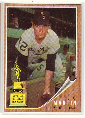 1962 Topps #91 J.C. Martin
