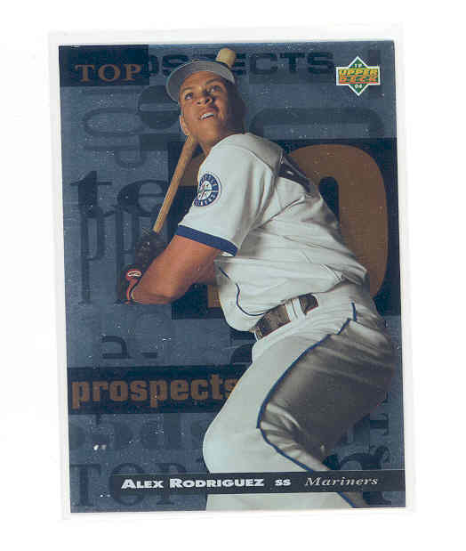 1994 Upper Deck Minors Top 10 Prospects #8 Alex Rodriguez