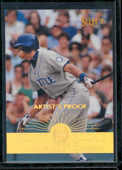 1995 Select Artist's Proofs #203 Alex Rodriguez