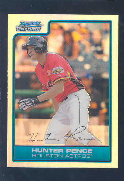 2006 Bowman Chrome Draft Future's Game Prospects Refractors #18 Hunter Pence