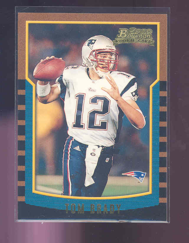2000 Bowman #236 Tom Brady RC