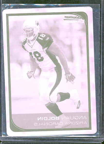 2006 Bowman Chrome Printing Plates Magenta #148 Anquan Boldin