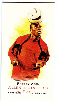 2007 Topps Allen and Ginter Mini A and G Back #157 Freddy Adu