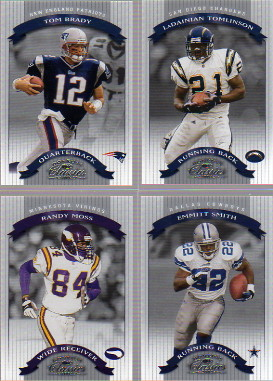 2002 Donruss Classics Samples #75 Tom Brady