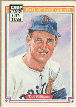 1987 Leaf Special Olympics #H5 Ted Williams
