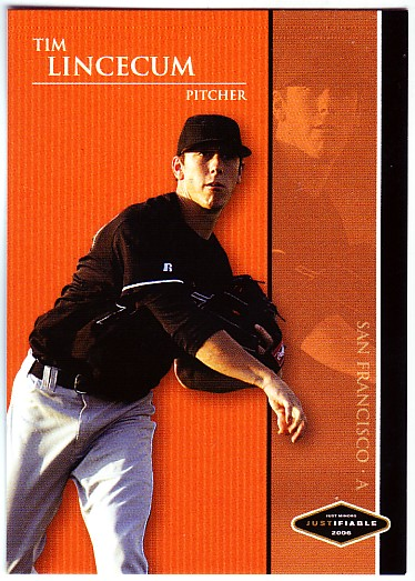 2006 Justifiable Black #22 Tim Lincecum